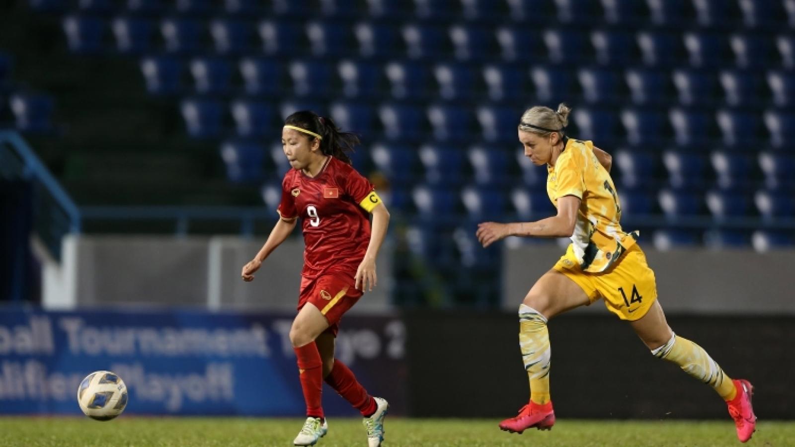 ĐT nữ Việt Nam xác định đối thủ cạnh tranh vé đến World Cup 2023