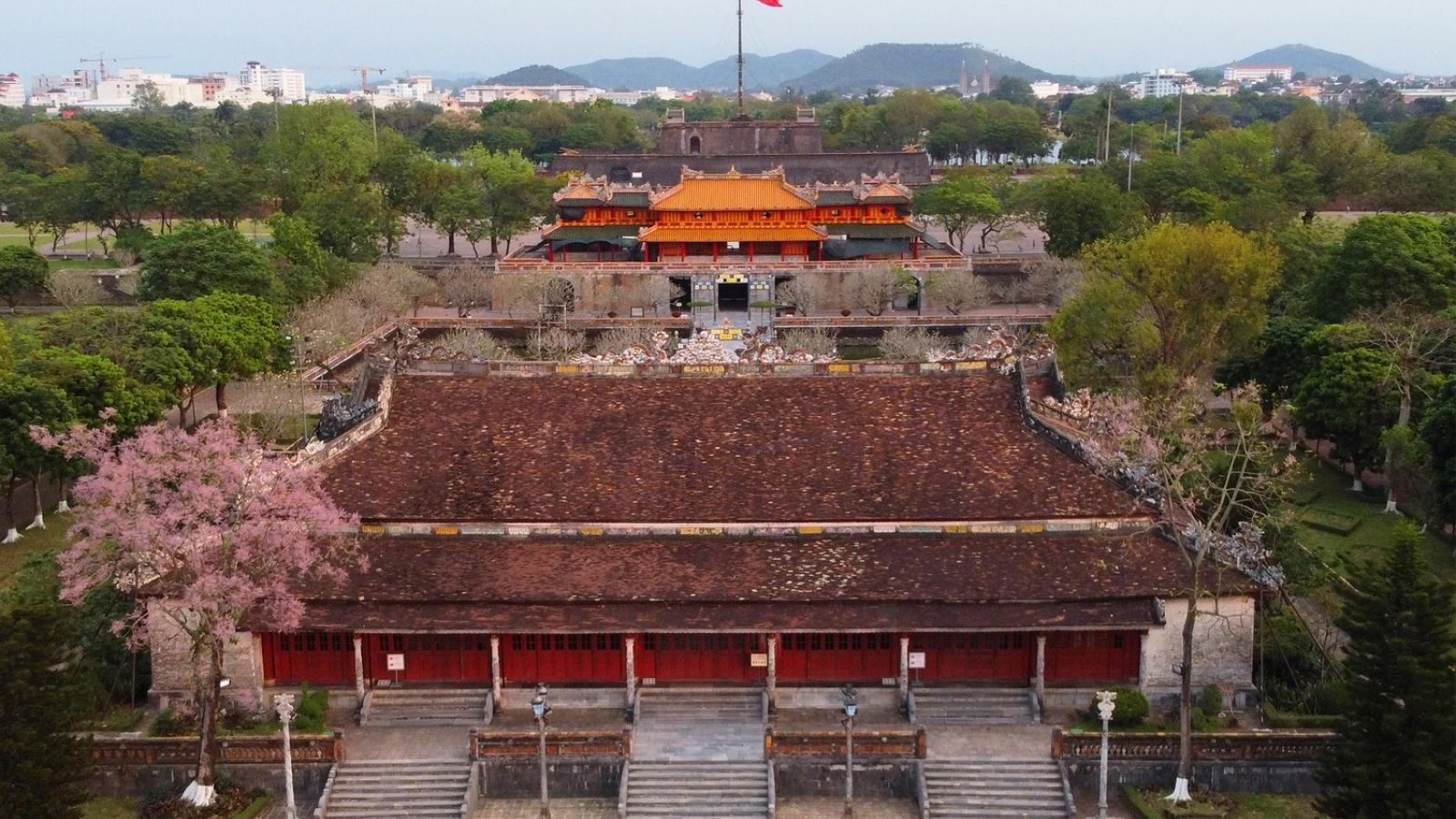 Khai quật khảo cổ tại di tích Điện Thái Hòa để bảo tồn, trùng tu tổng thể
