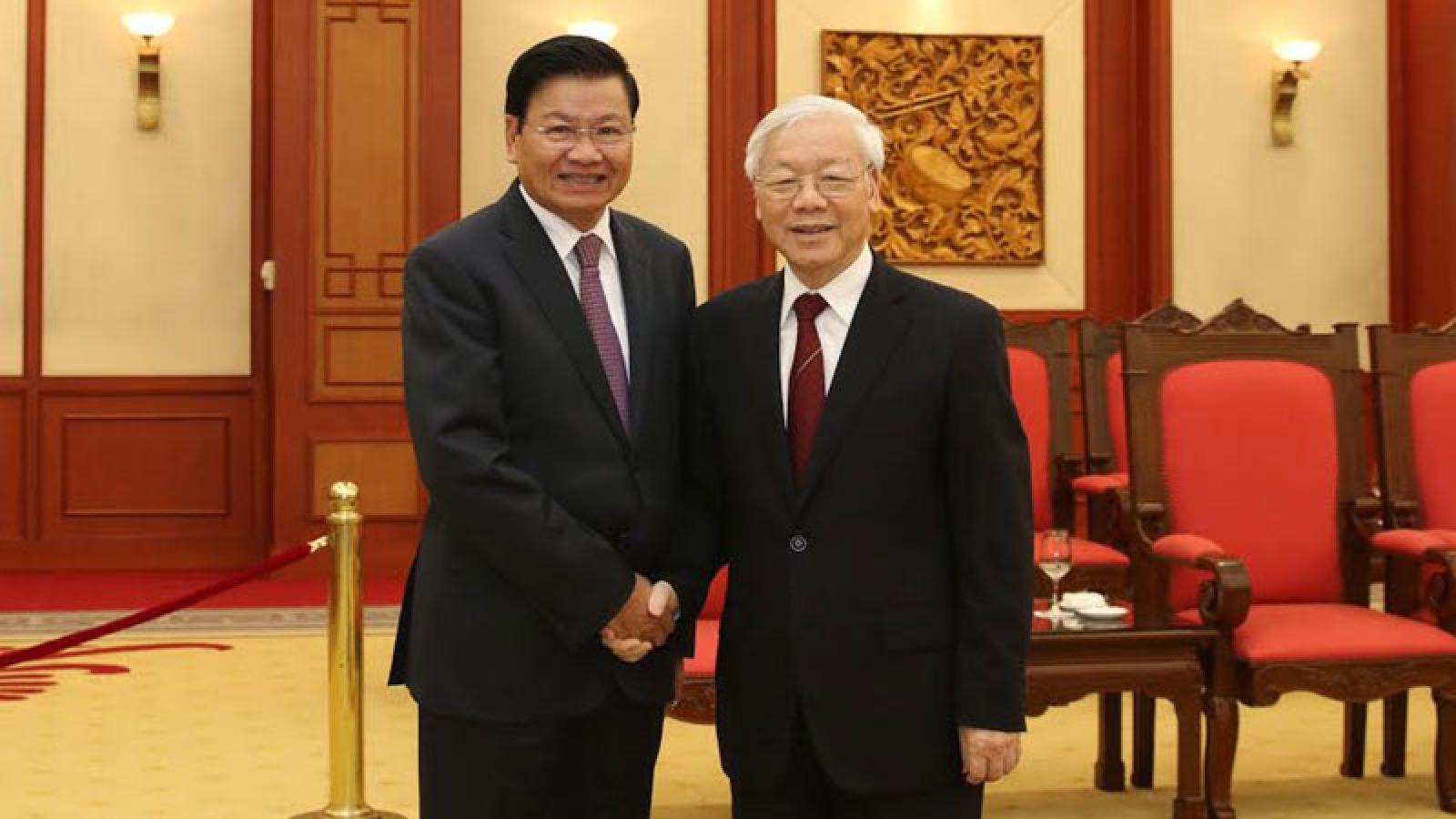 Tổng Bí thư, Chủ tịch nước Lào và phu nhân sẽ thăm Việt Nam