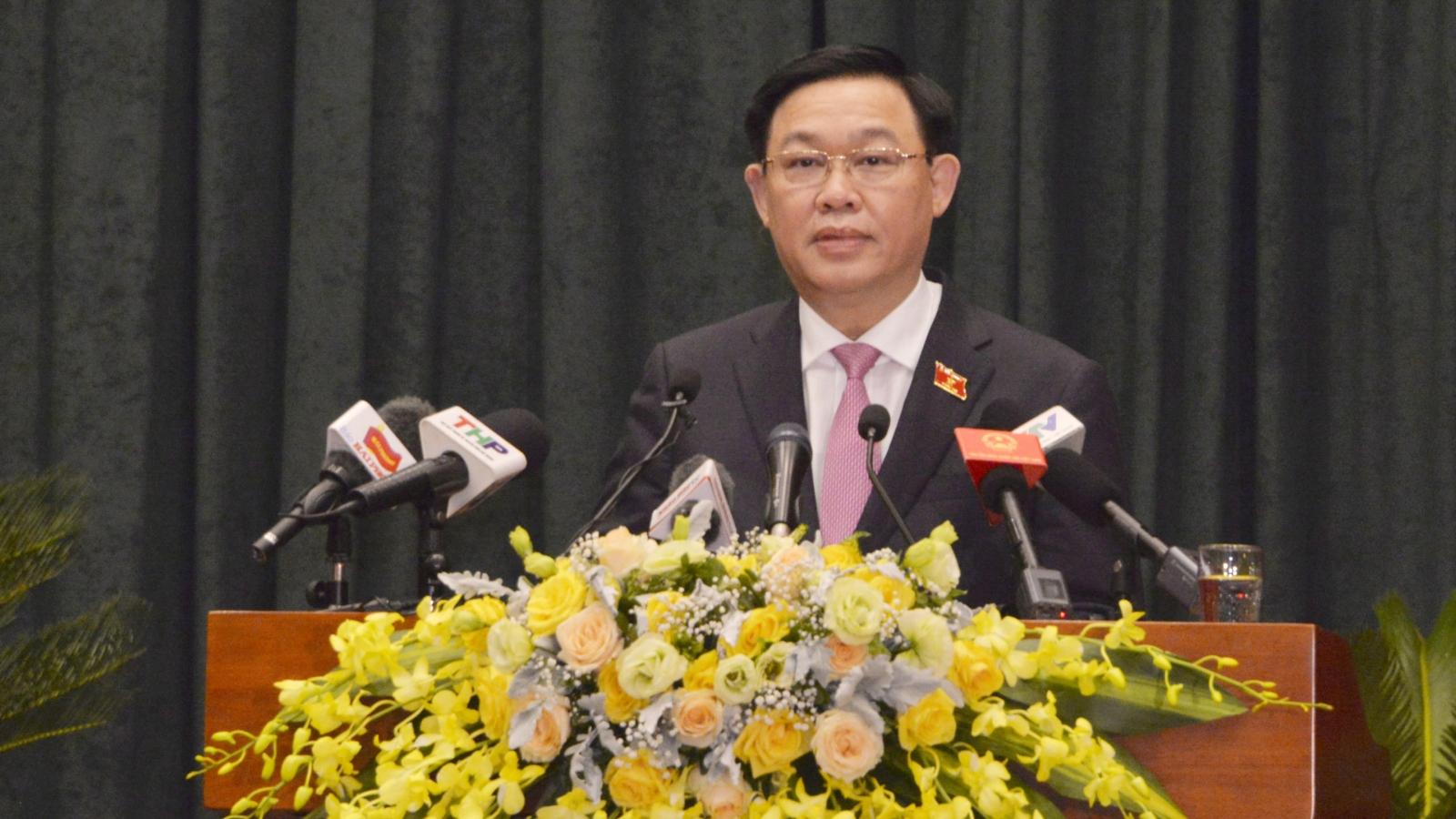 Chủ tịch Quốc hội: Các đại biểu cần thực hiện tốt lời hứa của mình