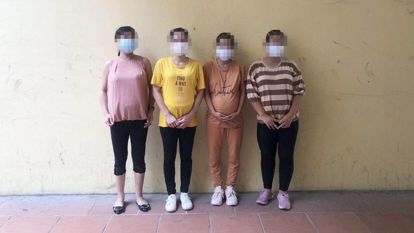 Ngăn chặn nhóm phụ nữ mang thai vượt biên sang Trung Quốc