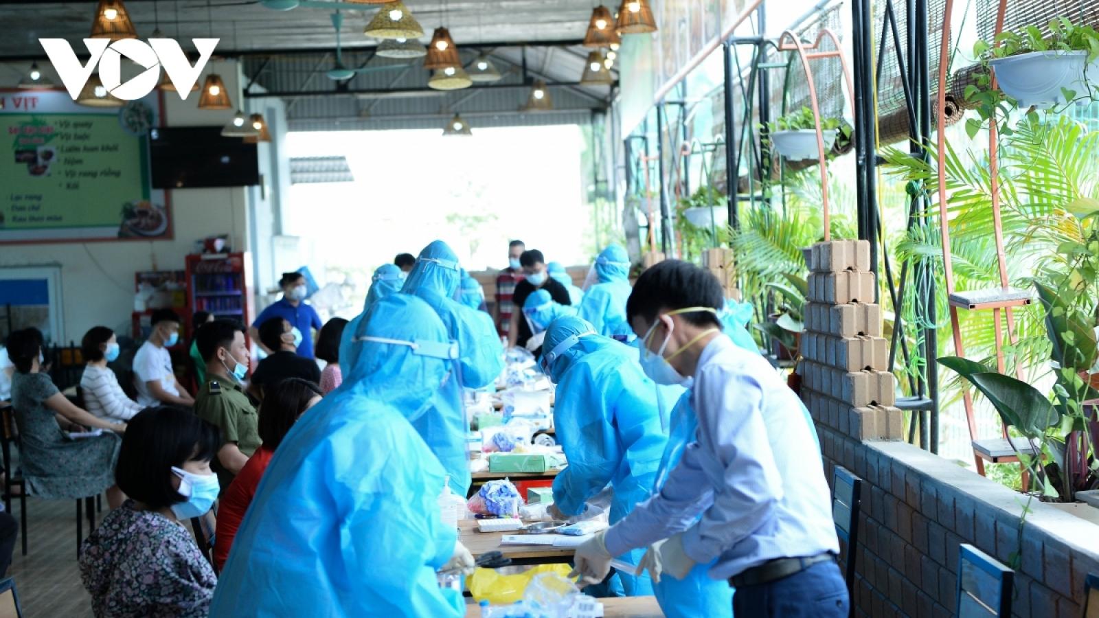 Chiều 17/6, có thêm 133 ca mắc COVID-19 trong nước, chủ yếu ở Bắc Giang và TP.HCM