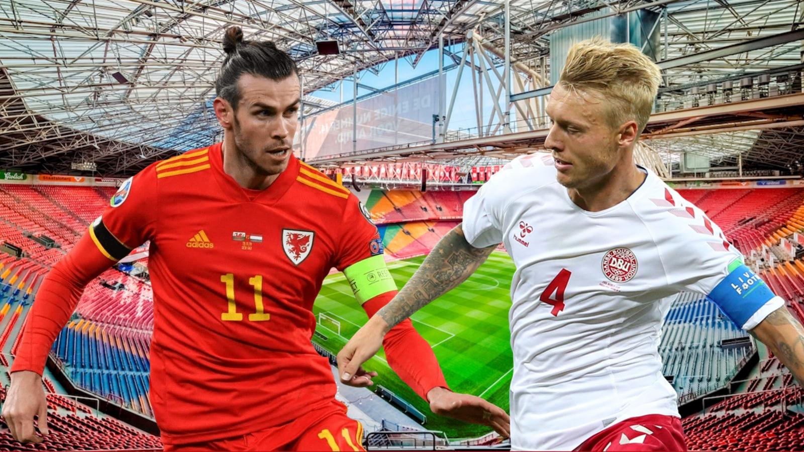 Dự đoán tỷ số, đội hình xuất phát trận Xứ Wales - Đan Mạch