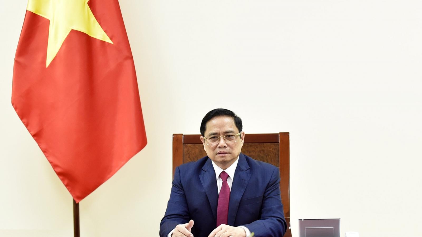 Thủ tướng Chính phủ điện đàm với Thủ tướng Quốc vụ viện nước CHND Trung Hoa