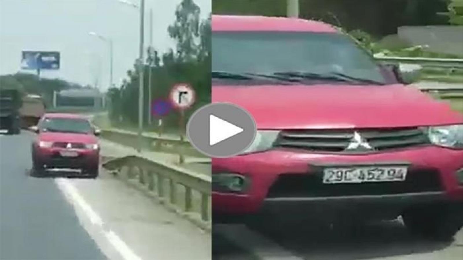 Phạt 17 triệu đồng với tài xế đi ngược chiều trên cao tốc cao tốc Hà Nội – Thái Nguyên