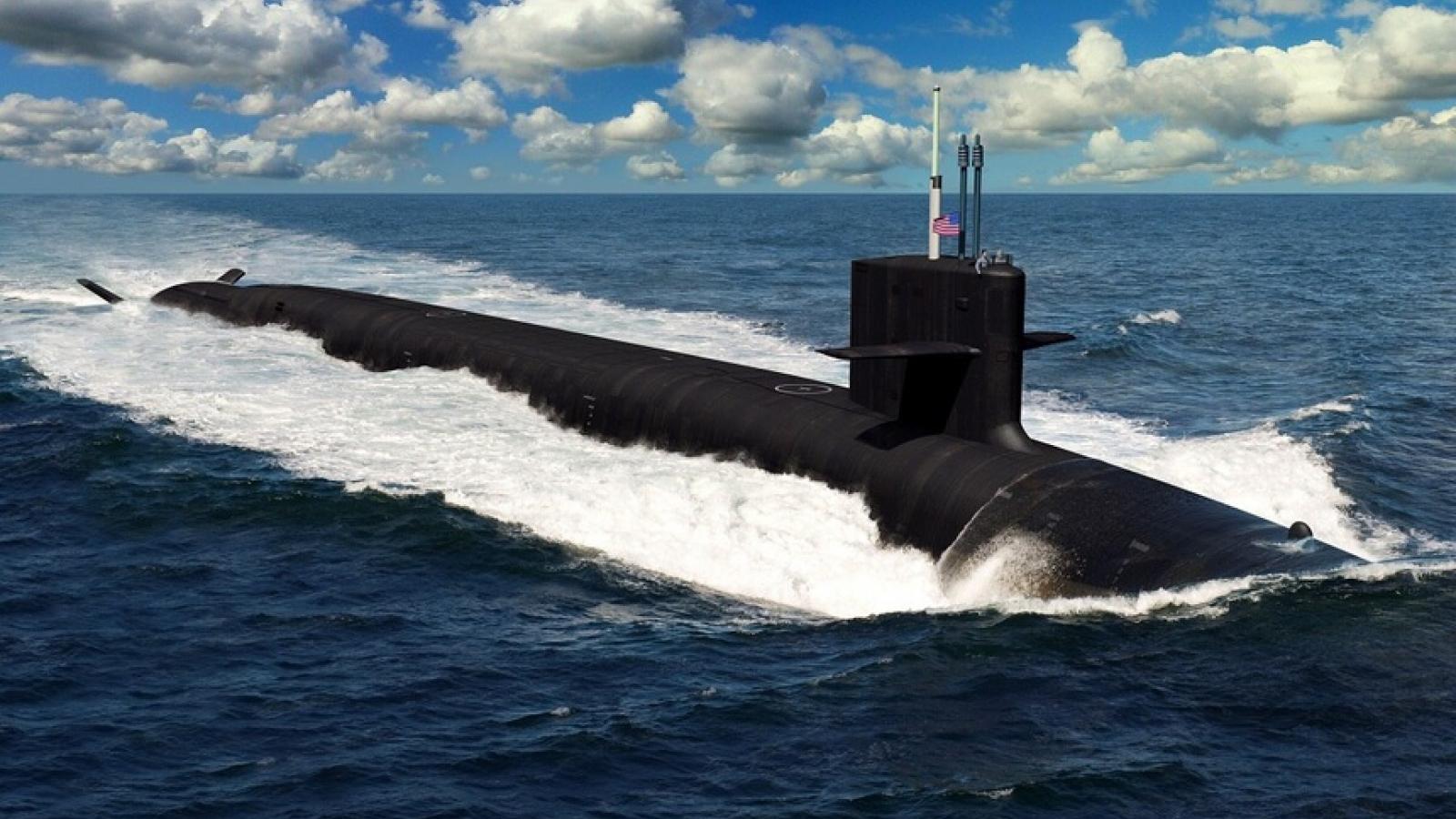 Tàu ngầm SSBN định hình cuộc cạnh tranh năng lực răn đe dưới biển giữa Mỹ và Trung Quốc