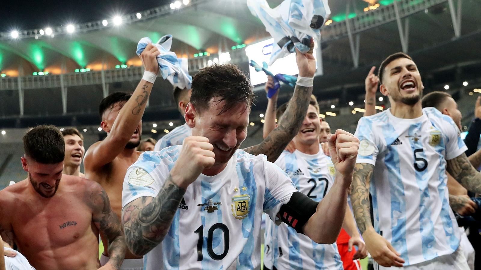 Messi sở hữu 7 kỷ lục tại Copa America