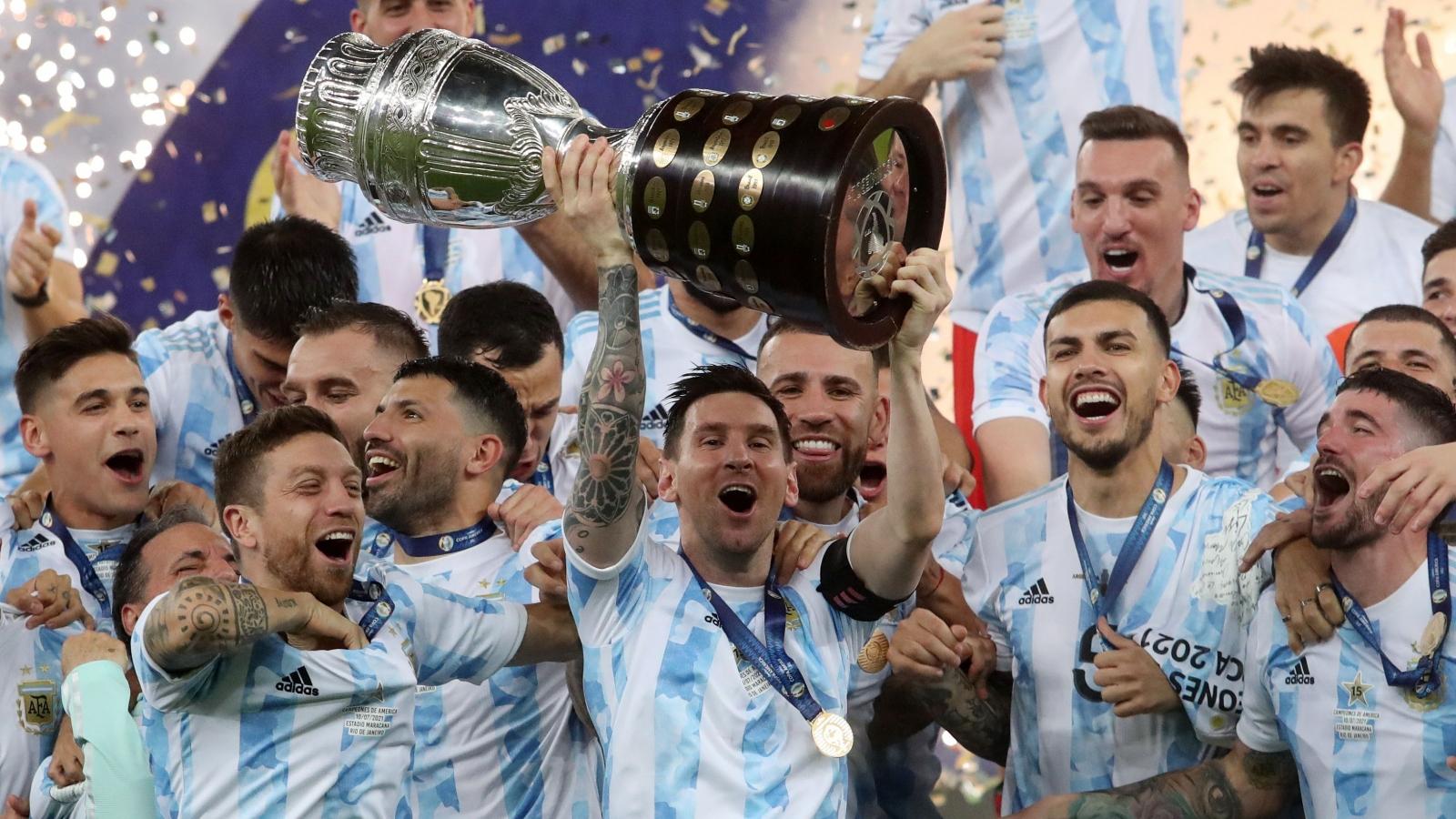 Messi và Argentina vô địch Copa America 2021: Sự công bằng của bóng đá