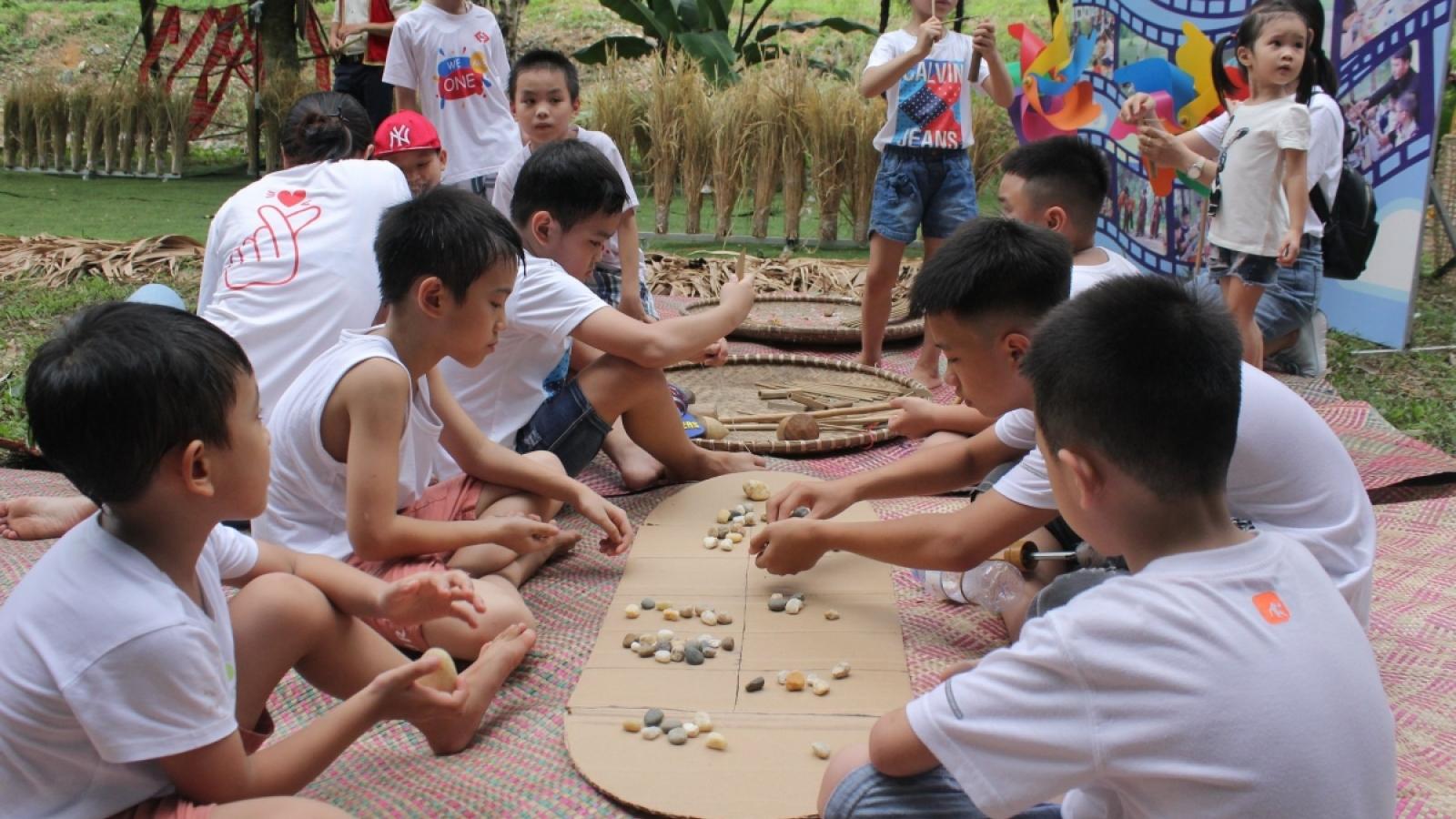 Tái hiện chợ quê Bắc Bộ tại Làng Văn hóa - Du lịch các dân tộc Việt Nam