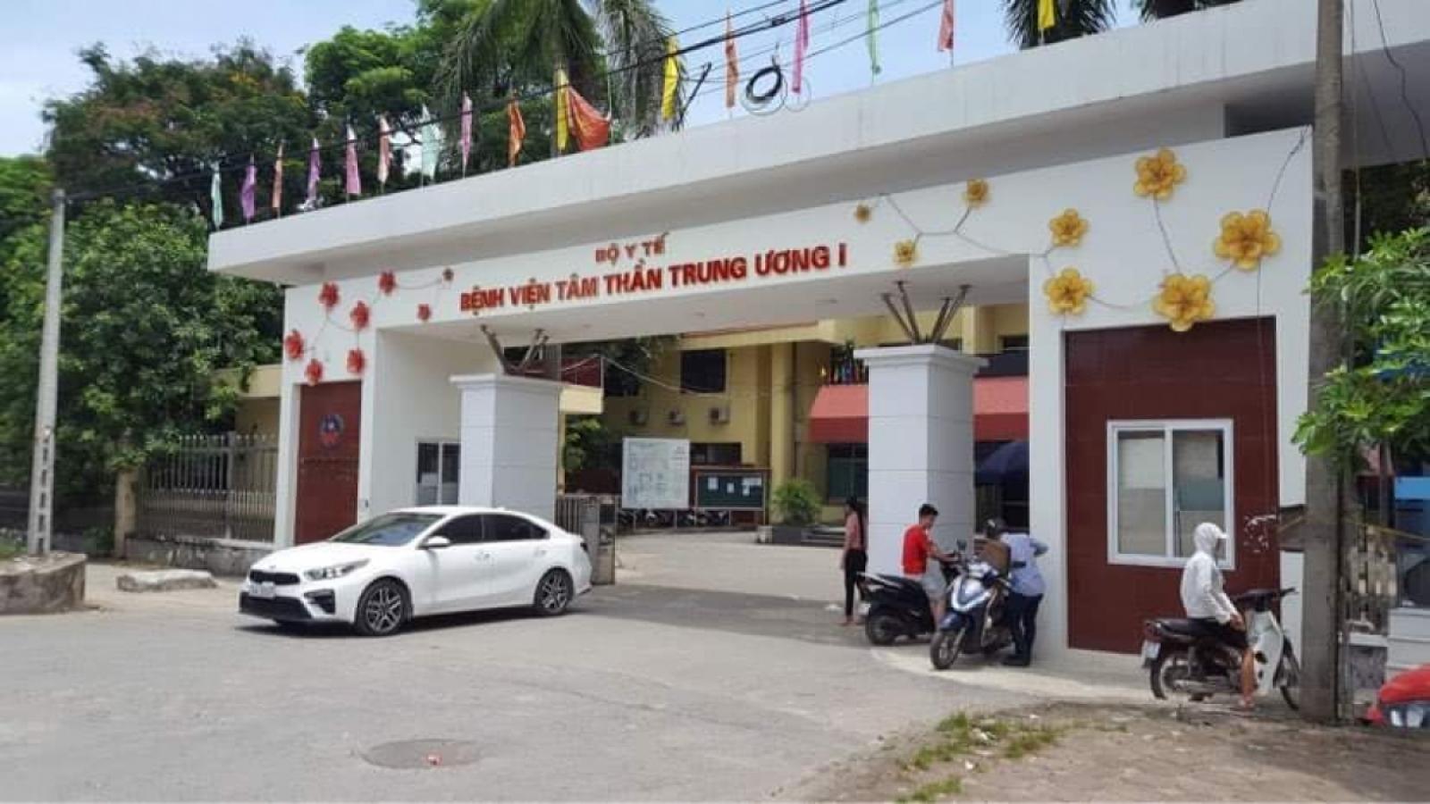 Bắt giam nữ y tá và hộ lý Bệnh viện Tâm thần Trung ương I