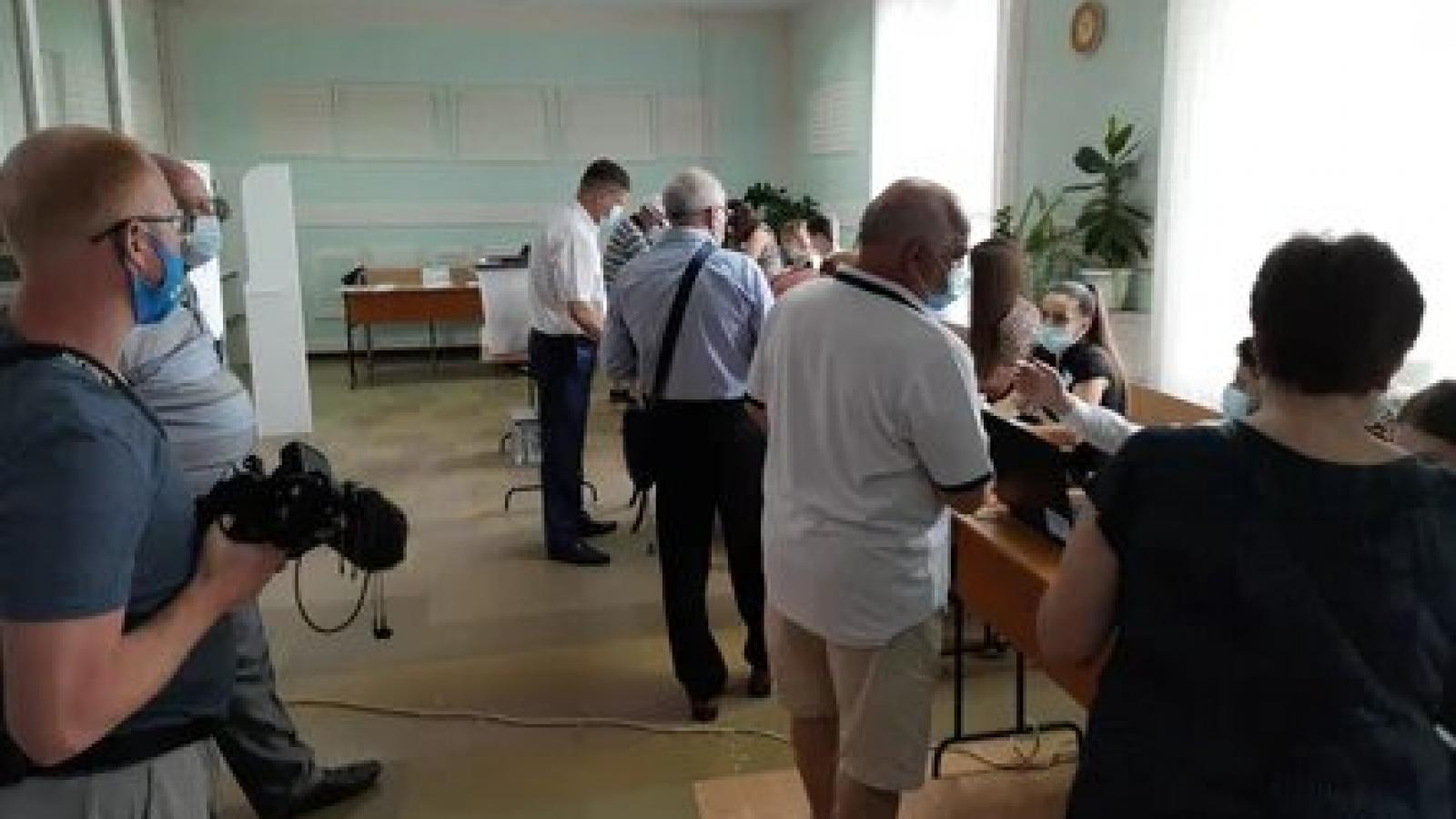 Đảng Đoàn kết và Hành động dẫn dầu cuộc bầu cử Quốc hội Moldova