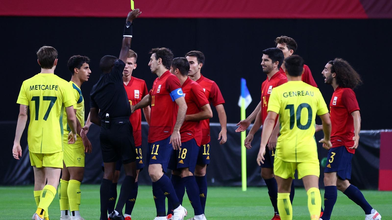 Trực tiếp bóng đá Olympic Tokyo, Australia 0-1 Tây Ban Nha: Oyarzabal lên tiếng