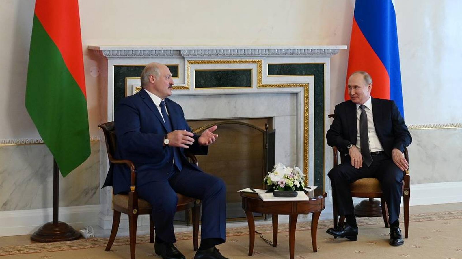 Belarus là đối tác lớn và đáng tin cậy của Nga trong lĩnh vực kinh tế