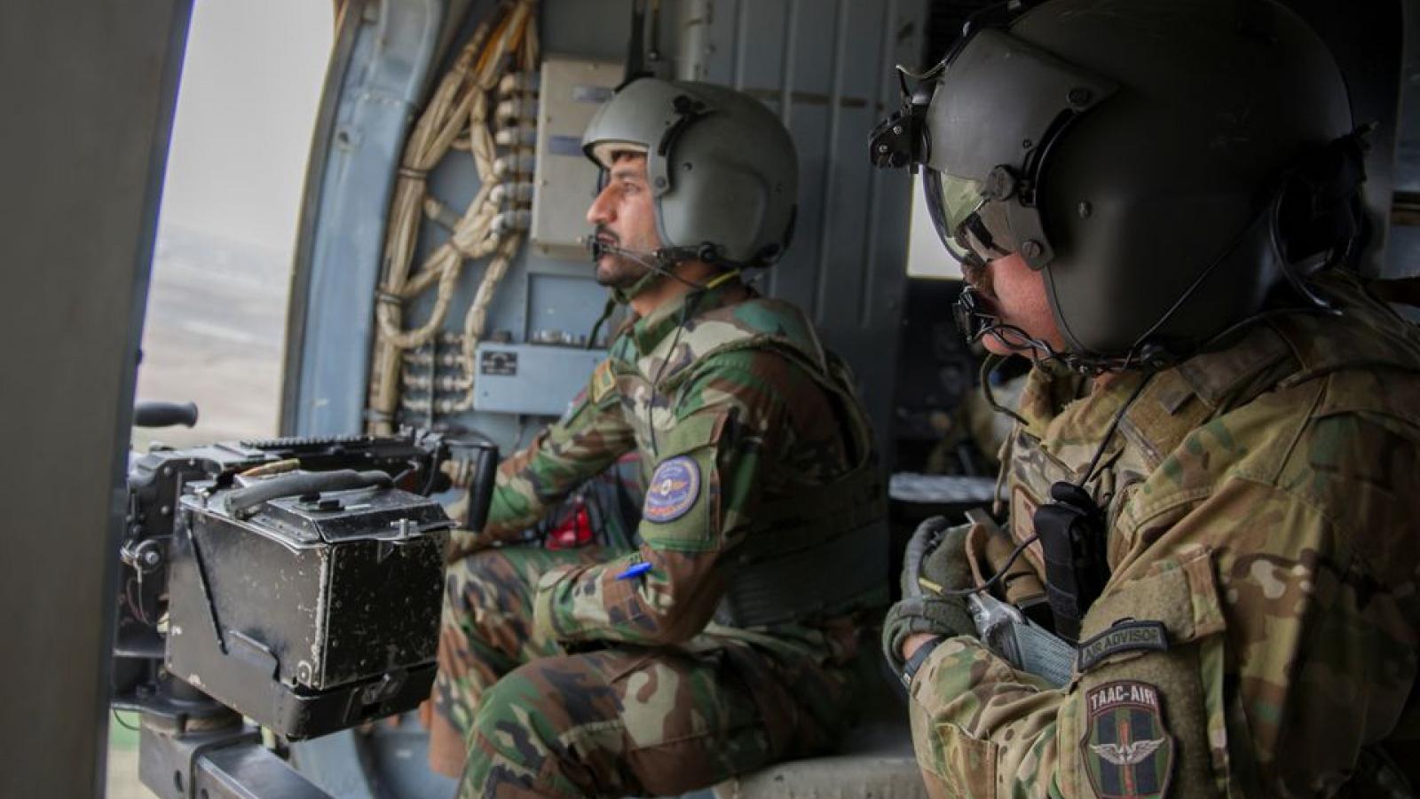 Mỹ gia tăngkhông kích nhắm tới Taliban tạiAfghanistan