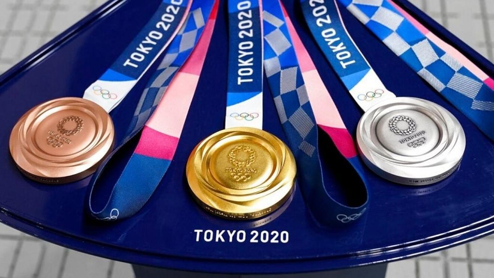 Bảng tổng sắp huy chương Olympic Tokyo 2020 mới nhất: Nhật Bản soán ngôi Trung Quốc