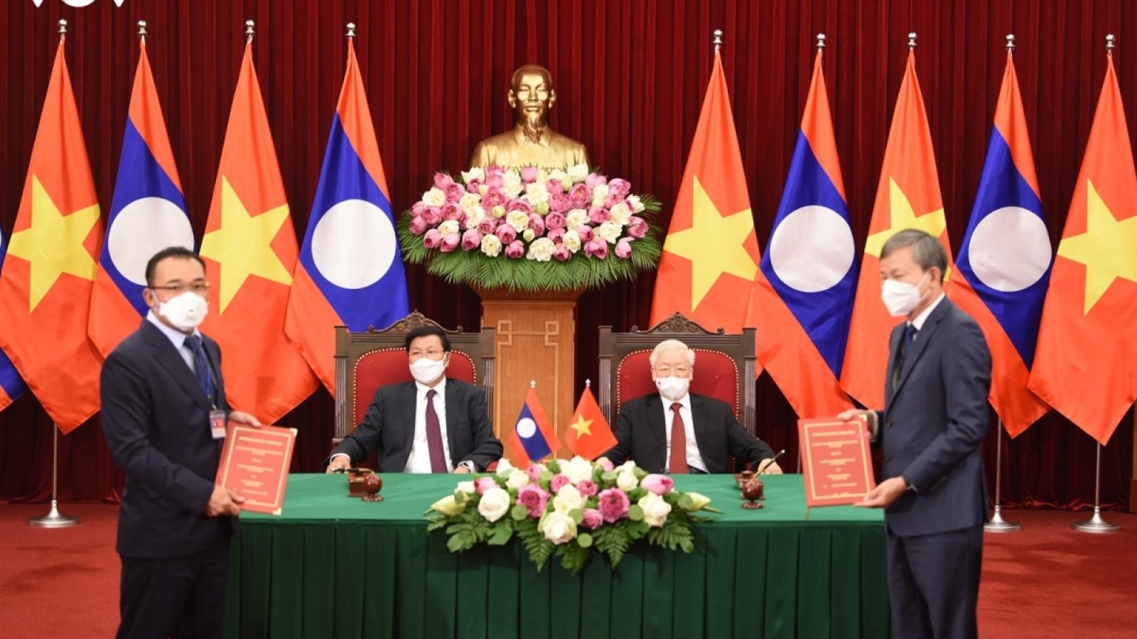 Dấu mốc 44 năm Việt Nam – Lào ký bản Hiệp ước Hữu nghị và Hợp tác