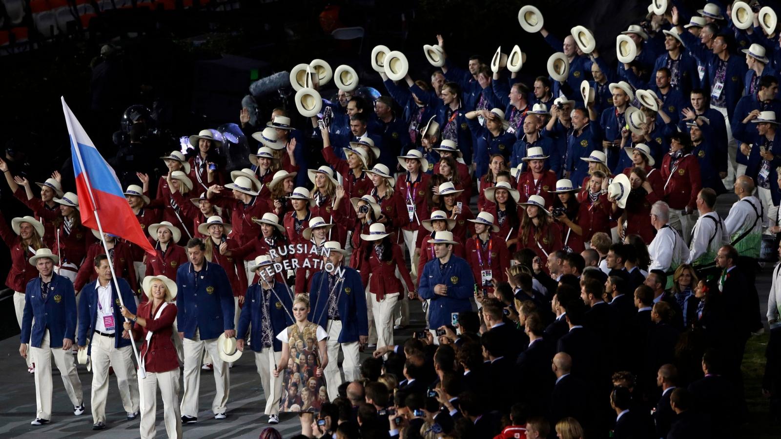 Thực hiện án phạt vì doping, đoàn thể thao Nga dự Olympic Tokyo theo cách đặc biệt