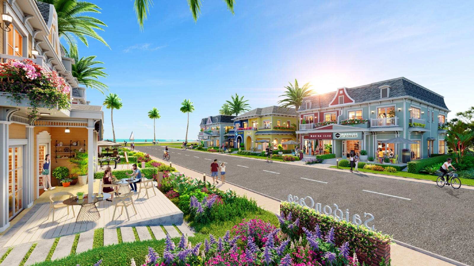 Sức hút của mô hình shop villa ven biển Hồ Tràm