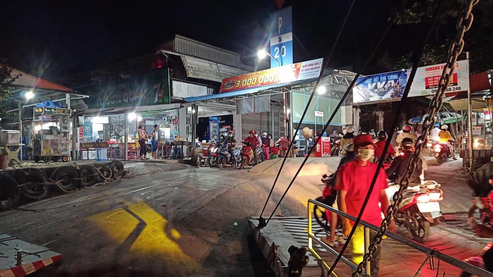 Tạm dừng vận tải hành khách các bến ngang sông liên tỉnh Cần Thơ – Vĩnh Long