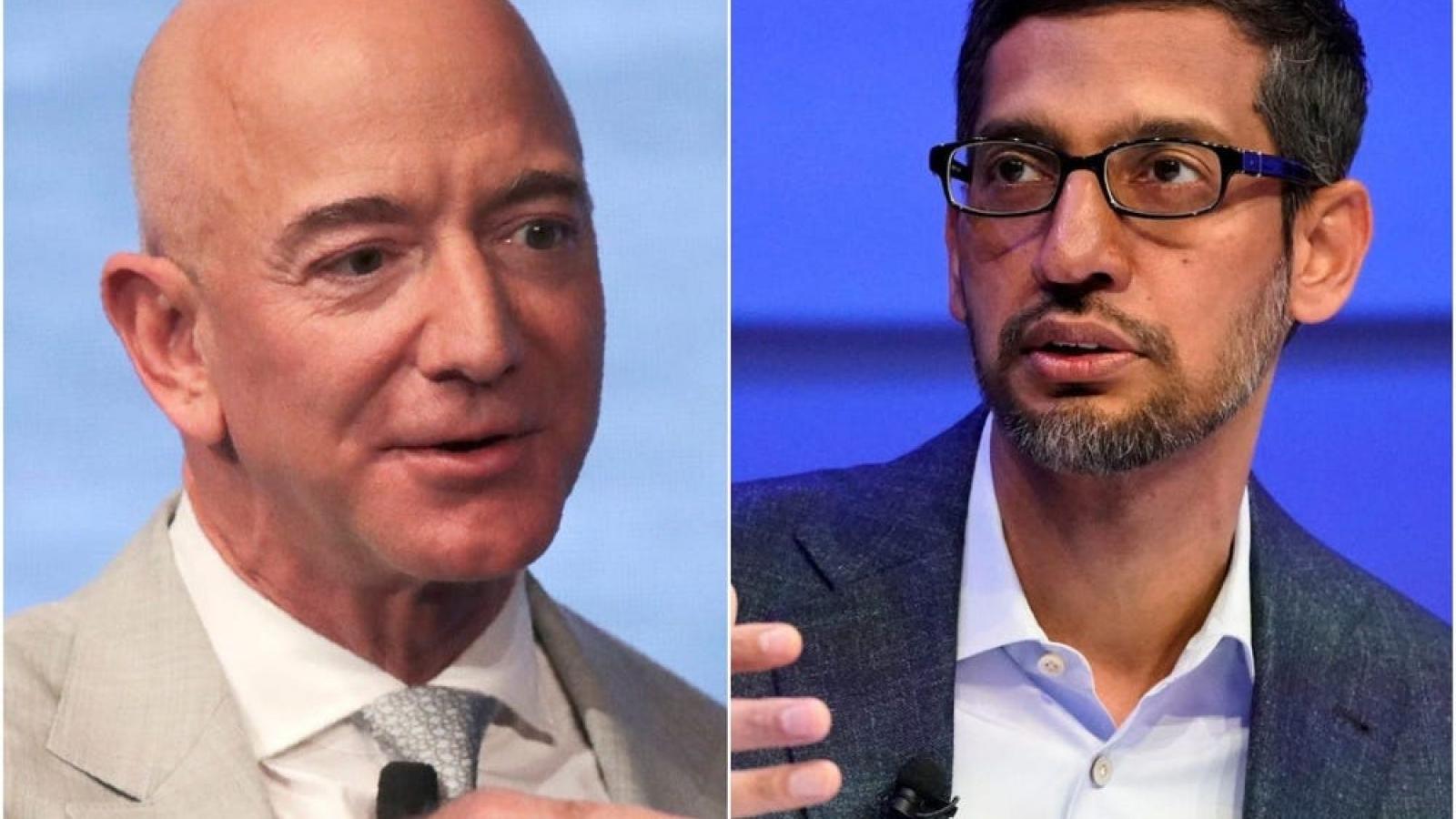 CEO Google 'ghen tị' khi thấy các tỉ phú bay vào vũ trụ