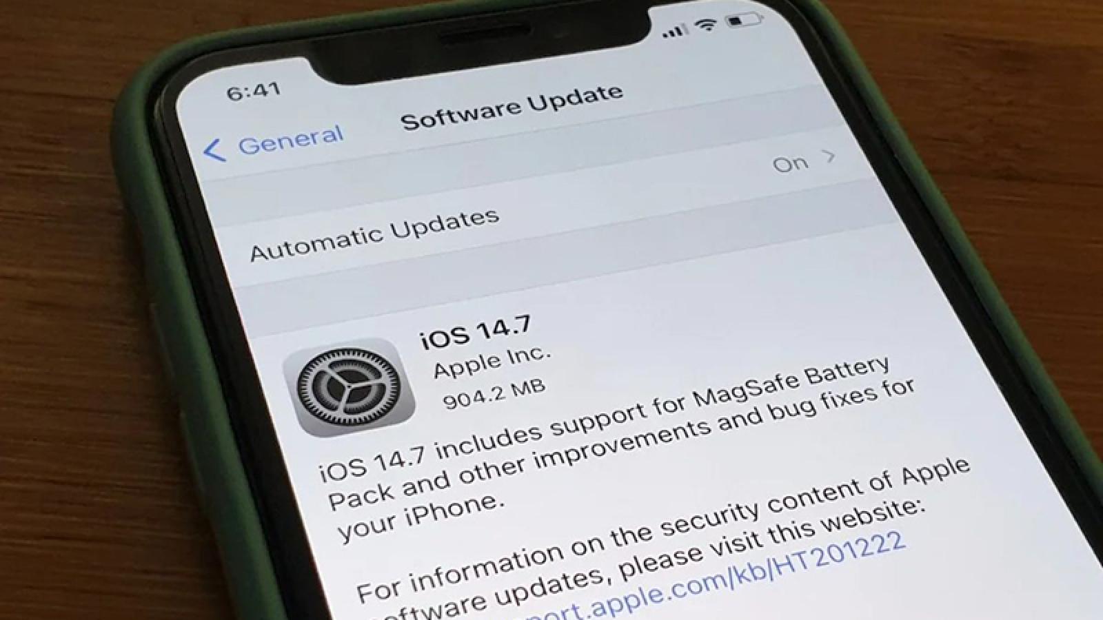 Vì sao người dùng iPhone cần cập nhật iOS 14.7 càng sớm càng tốt?