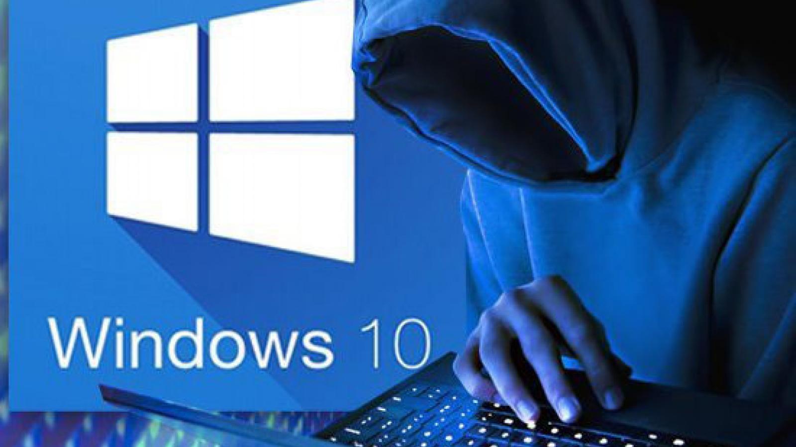 Cảnh báo nguy cơ bị hacker tấn công qua lỗ hổng mới trong Windows 10
