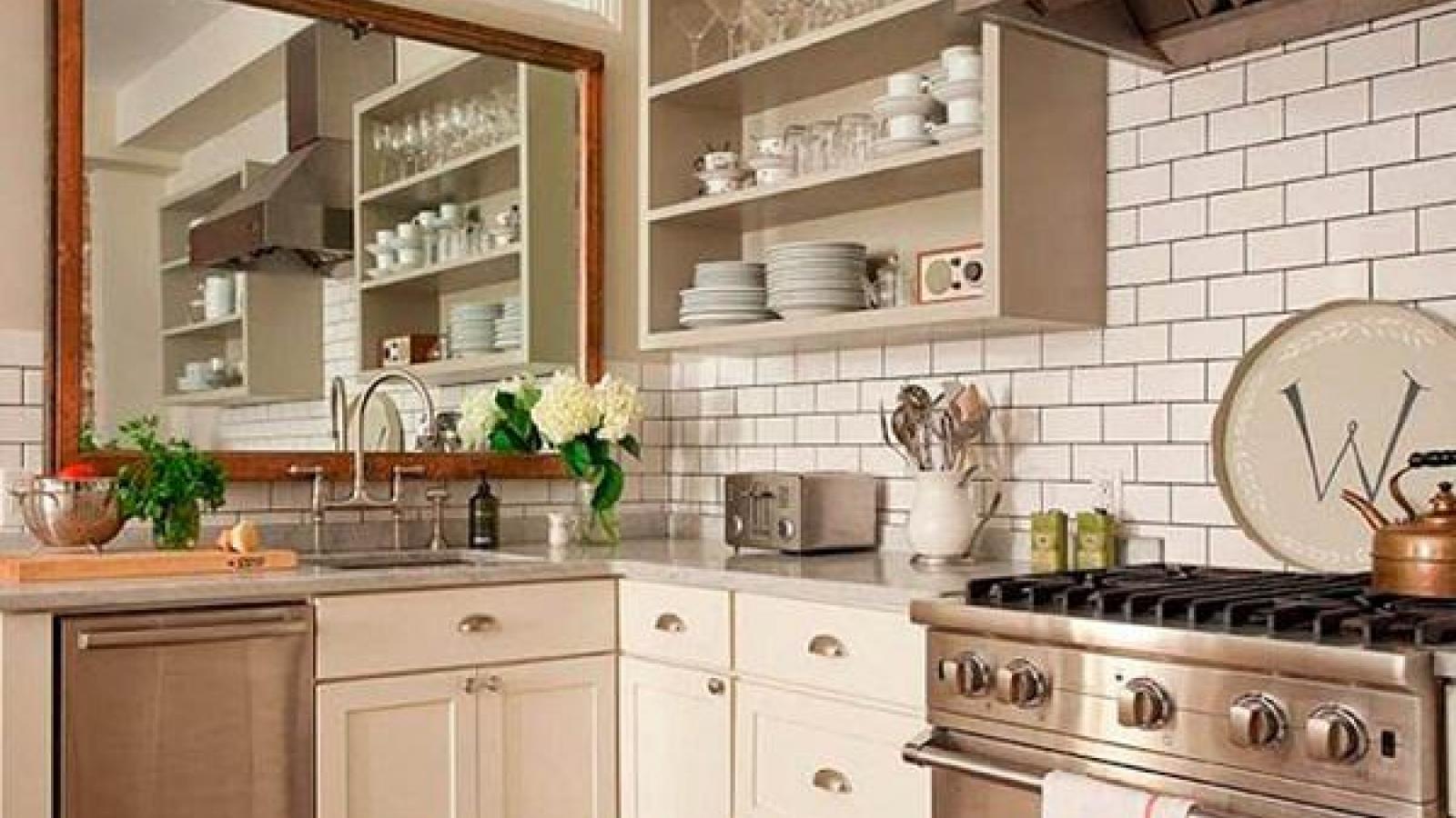 Lời khuyên hữu ích dành cho những căn bếp nhỏ