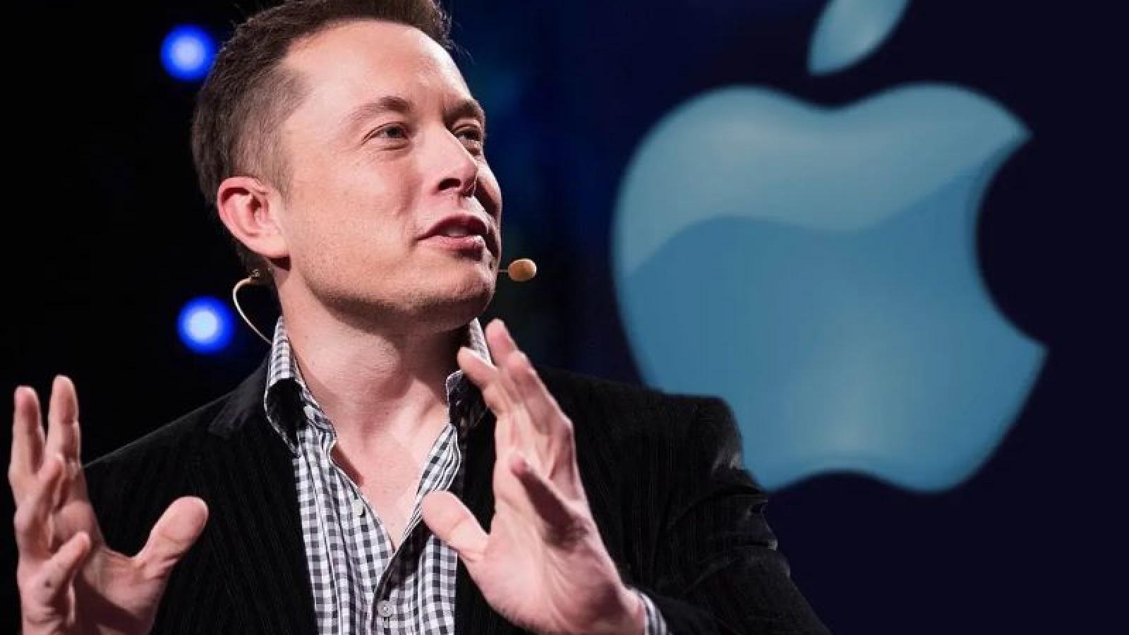 """Elon Musk """"cà khịa"""" đối thủ tương lai - Apple"""