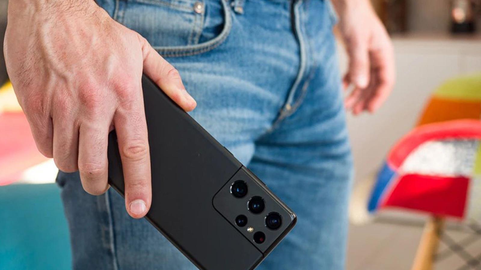 Samsung sẽ bỏ qua cuộc đua megapixel trên Galaxy S22 Ultra