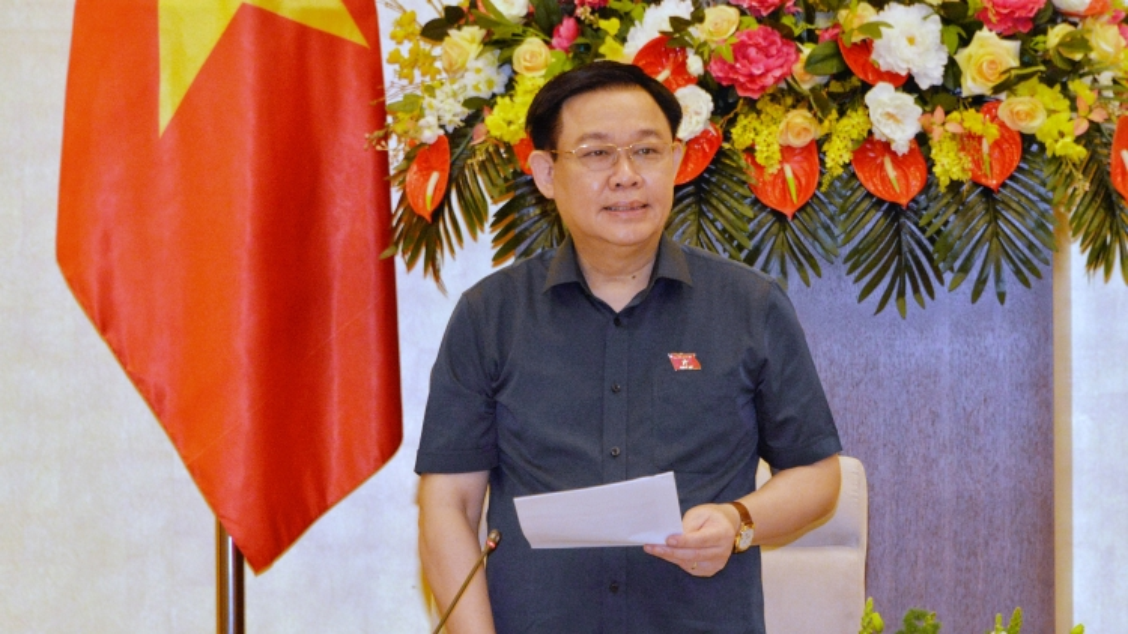 Chủ tịch Quốc hội chủ trì phiên họp thứ 8, Hội đồng bầu cử Quốc gia