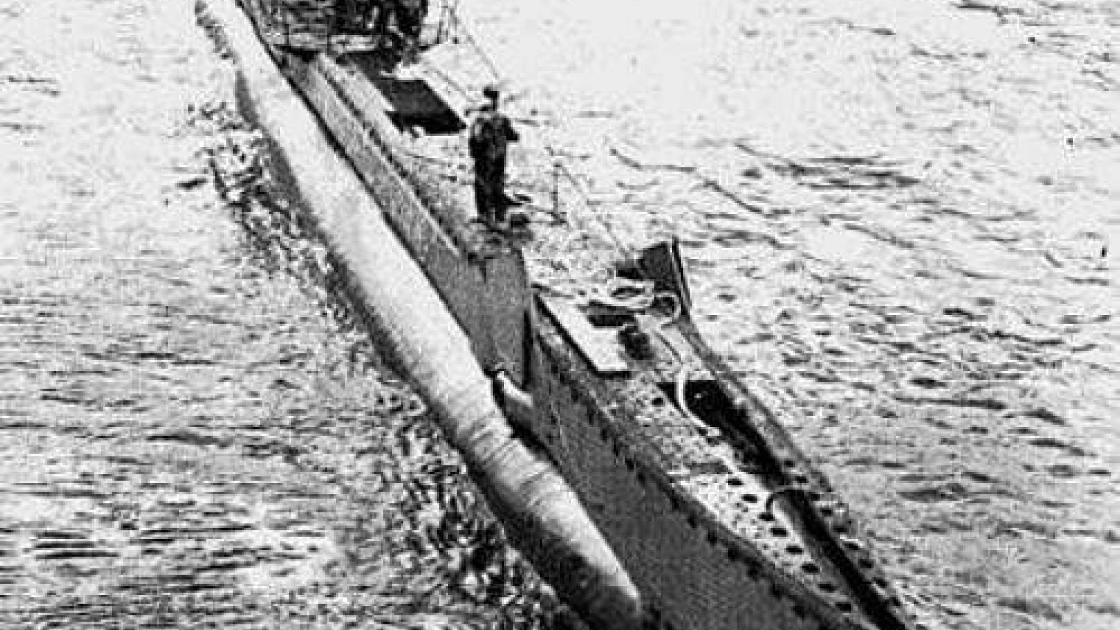 Trận chiến dưới nước đặc biệt nhất Thế chiến II