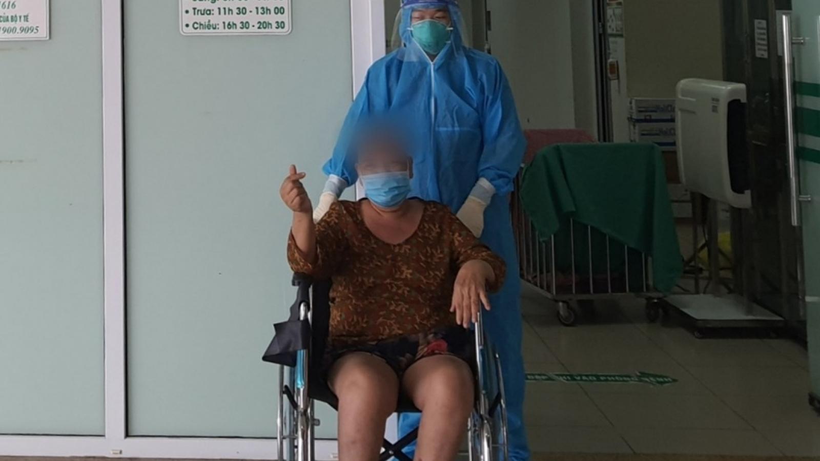 Bệnh nhân 64 tuổi, có bệnh nền đã chiến thắng COVID-19