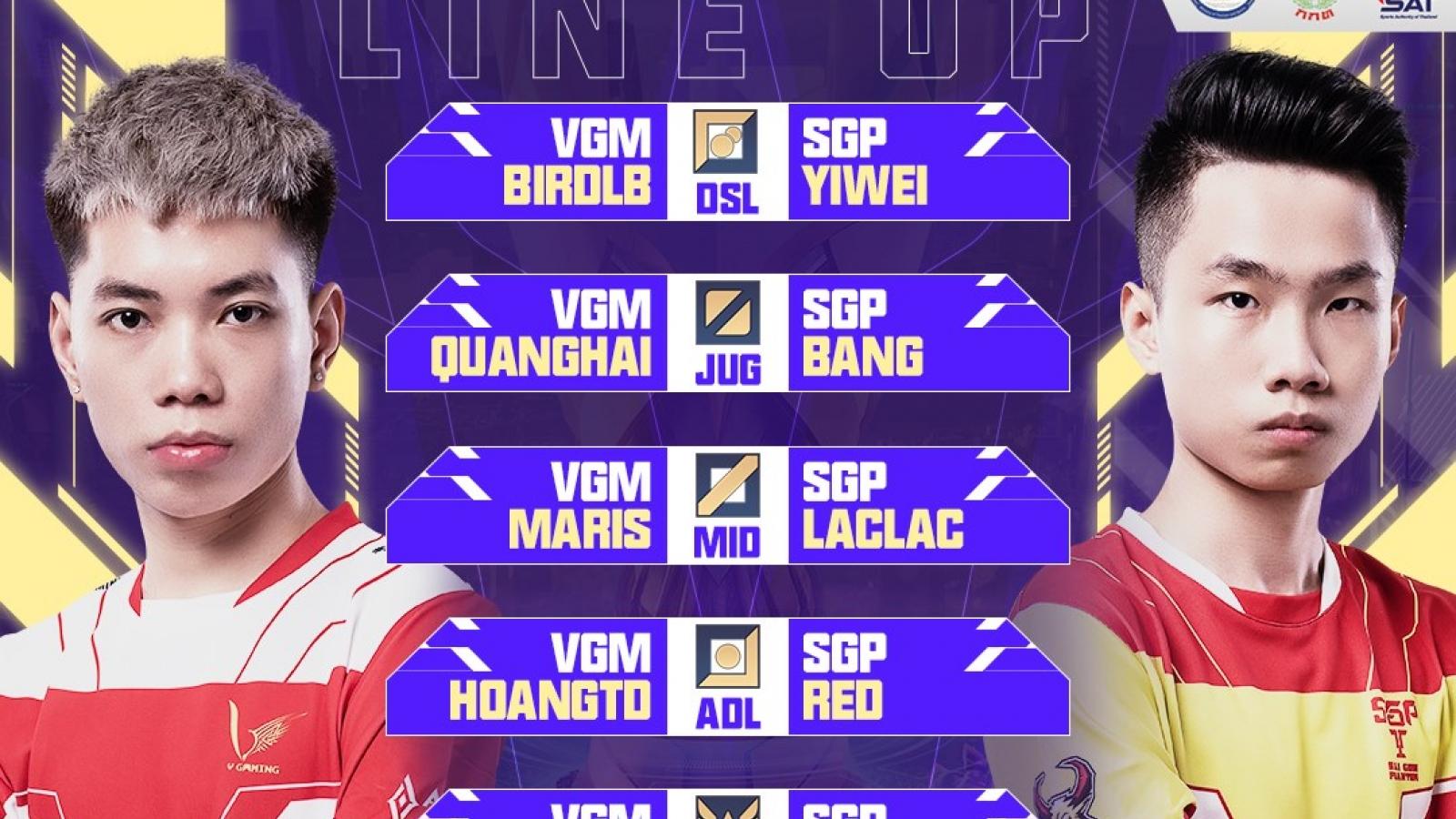 """Tứ kết AWC 2021: Saigon Phantom loại V-Gaming trong màn """"huynh đệ tương tàn"""""""
