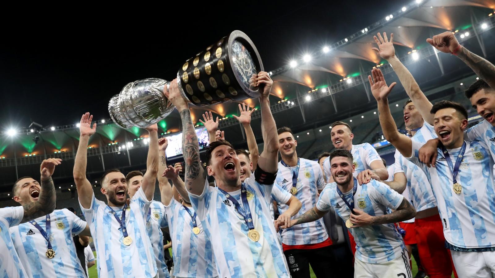 Argentina trở thành đội bóng giàu thành tích nhất Copa America