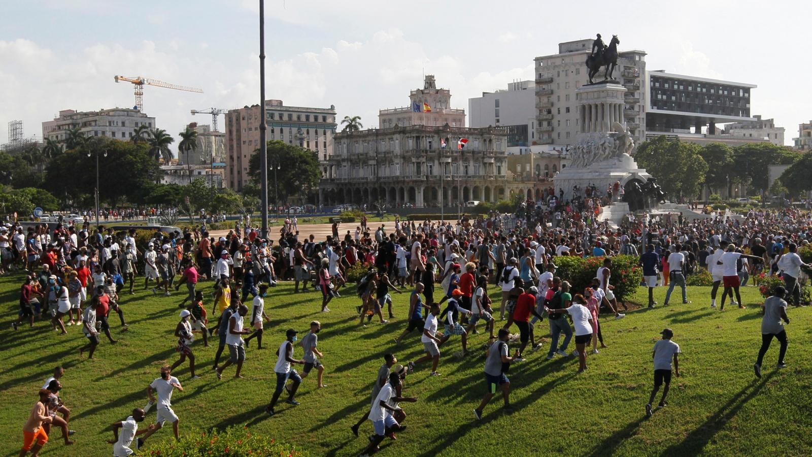 Lệnh cấm vận của Mỹ bịchỉ tríchlà nguyên nhân gây ra biểu tình ở Cuba