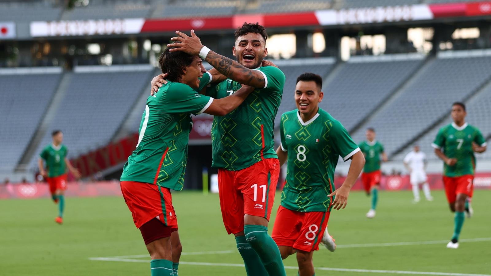 Mexico thắng Pháp 4-1 trong trận ra quân Olympic Tokyo 2020