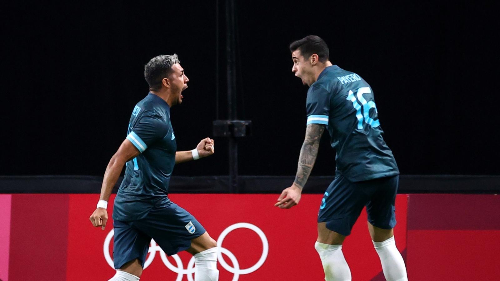 Argentina có chiến thắng đầu tay ở Olympic Tokyo 2020