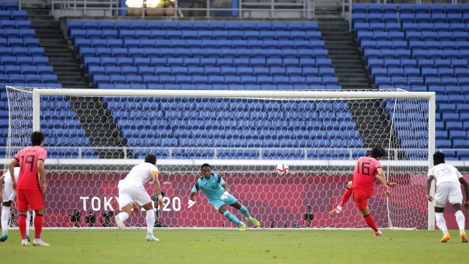 TRỰC TIẾP Hàn Quốc 2-0 Honduras: Hai bàn thắng liên tiếp trên chấm 11m