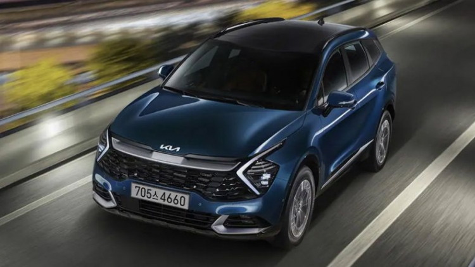 Kia Sportage Hybrid 2021 ra mắt tại Hàn Quốc