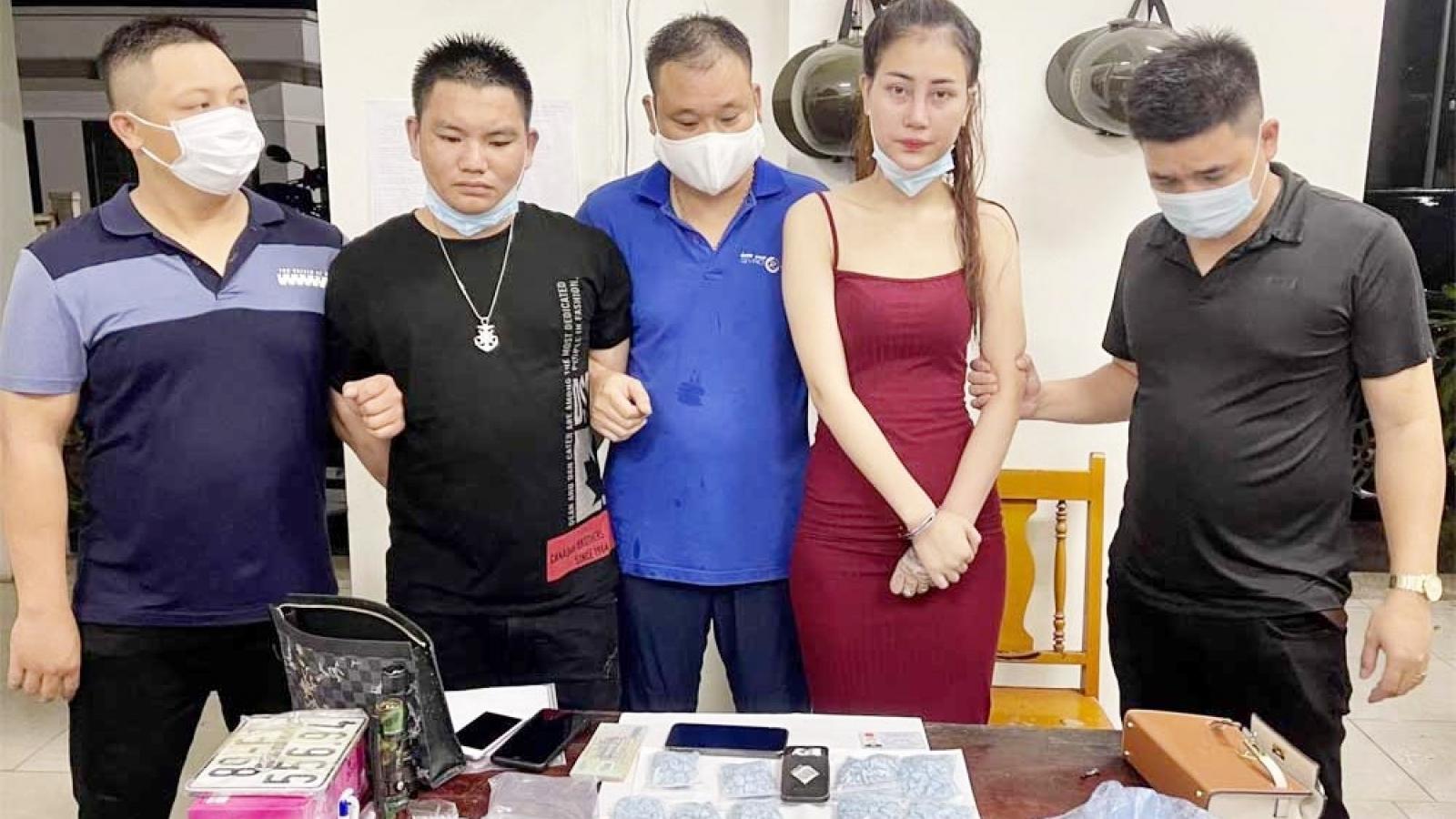 Tiktoker Bích Ngọc bị bắt vì mua bán 1.500 viên ma túy