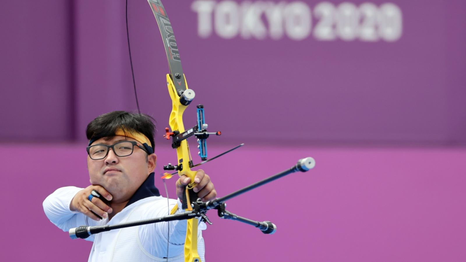 """Bắn 10 điểm """"không trượt phát nào"""", cung thủ Hàn Quốc gây sốt ở Olympic Tokyo"""