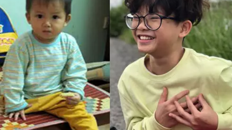 Italian surgeons' book inspired by Miracle Boy Thien Nhan