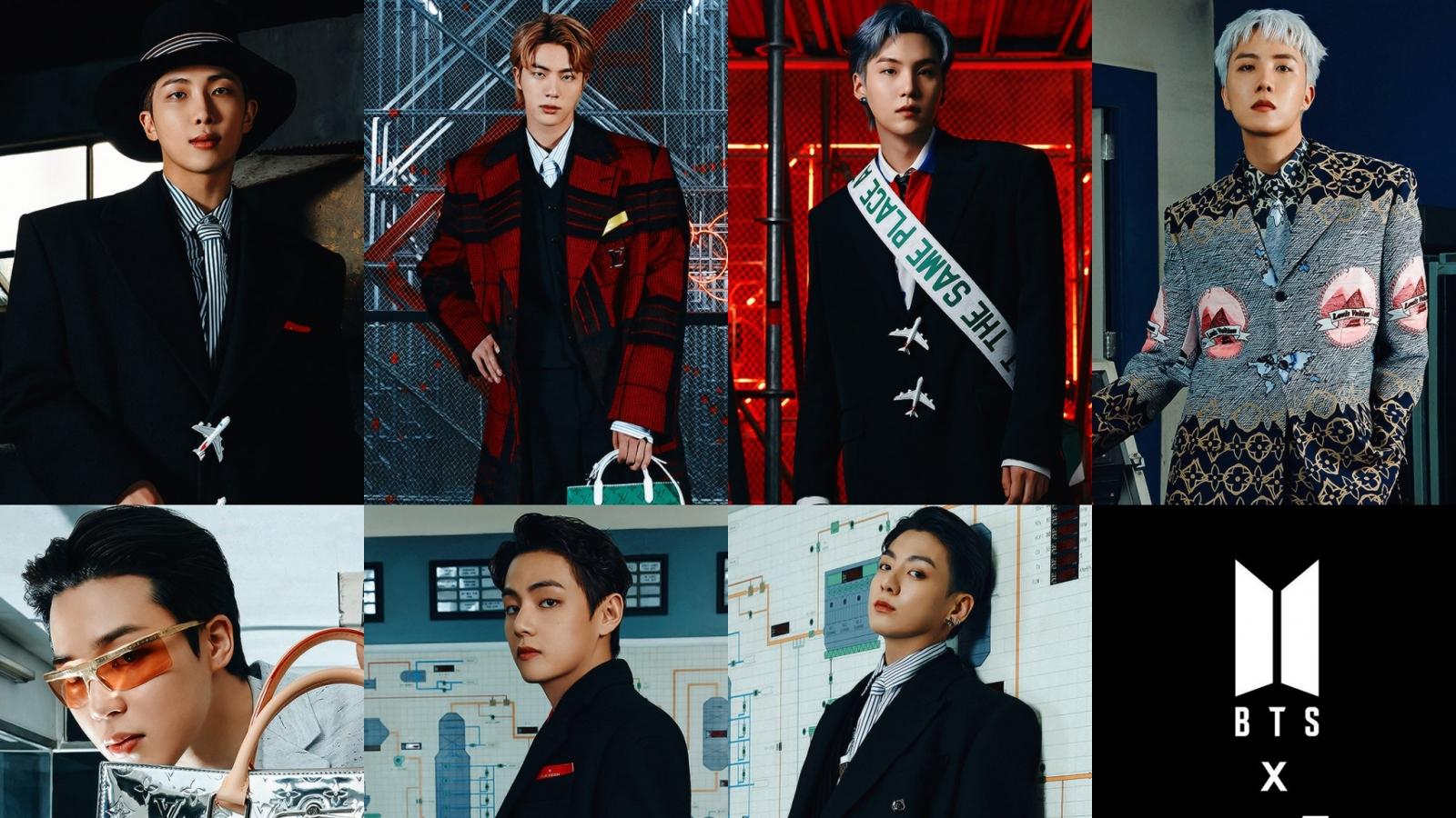 BTS thời thượng, quyền lực, mở màn show diễn của Louis Vuitton