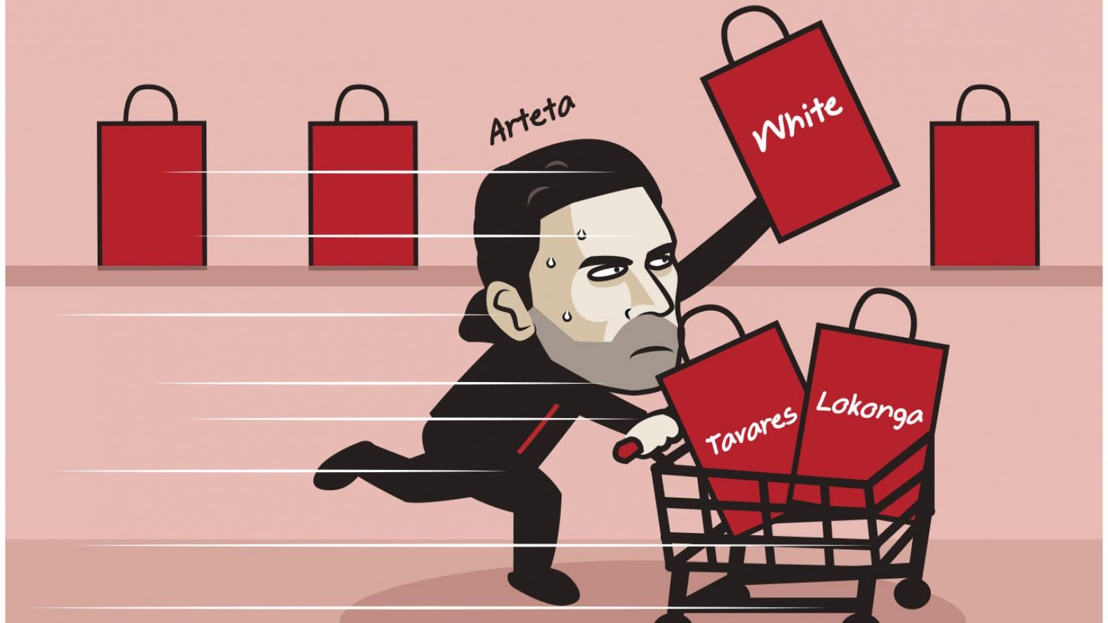 """Biếm họa 24h: Arsenal """"lột xác"""" trên thị trường chuyển nhượng"""
