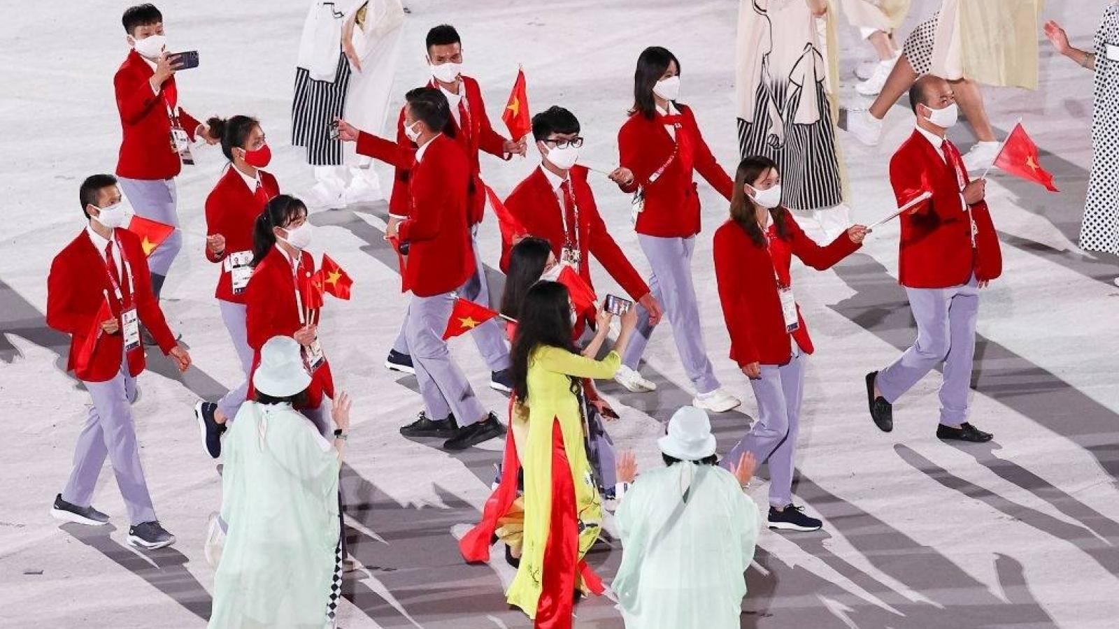 Lễ khai mạc Olympic Tokyo 2020 hoành tráng, rực rỡ sắc màu