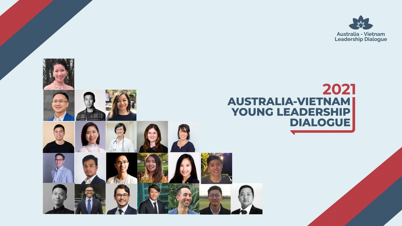 22 gương mặt tiêu biểu tham gia Đối thoại Lãnh đạo trẻ Australia-Việt Nam 2021