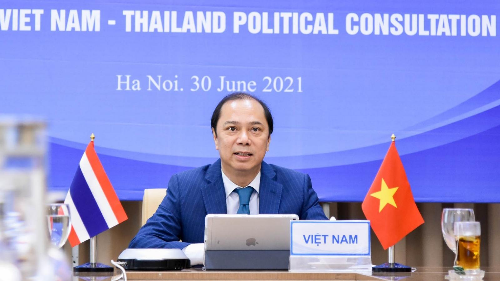 Việt Nam và Thái Lan ủng hộ thực hiện đầy đủ DOC và đàm phán COC trên Biển Đông