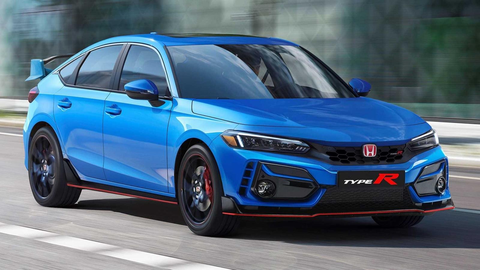 Hình ảnh mô phỏng Honda Civic Type R 2022