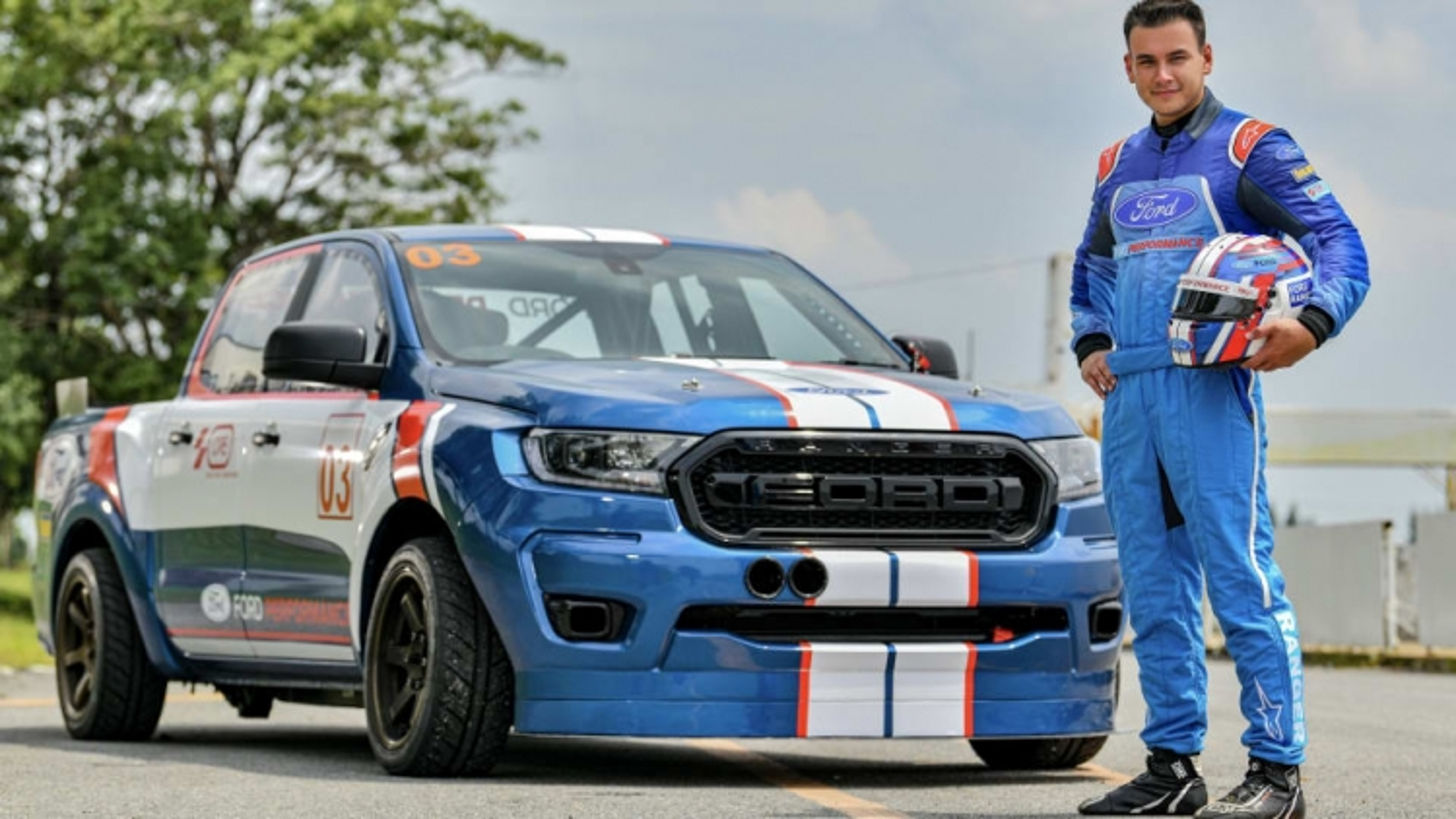 Phiên bản Ford Ranger XL Street Special dành riêng cho thị trường Thái Lan