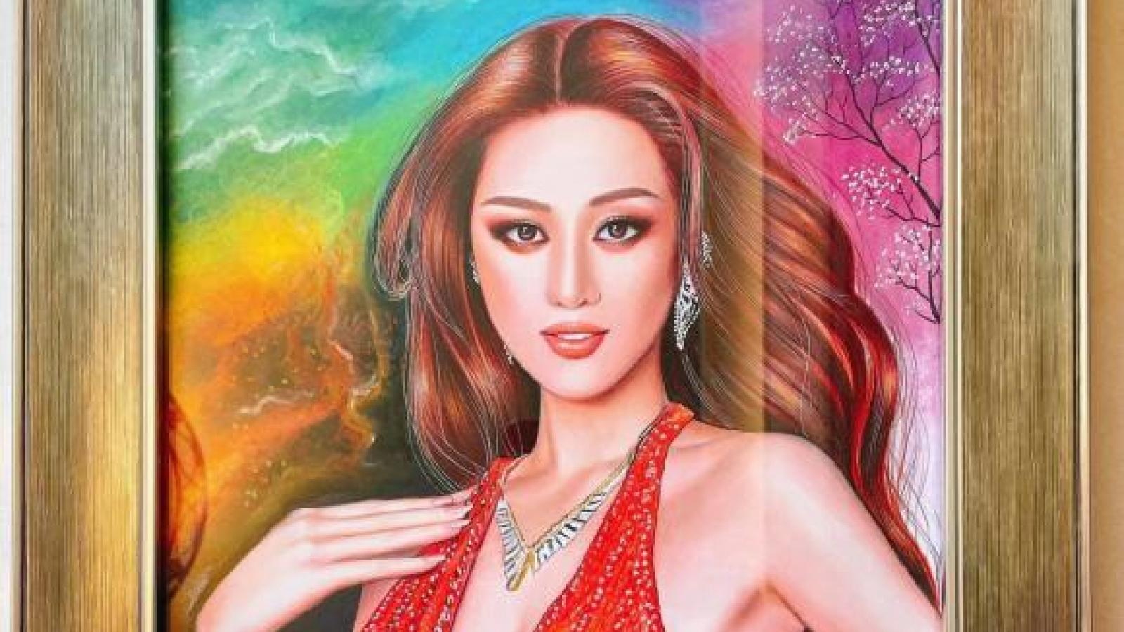 """Chuyện showbiz: Khánh Vân được tặng quà """"ngập nhà"""" sau khi trở về từ khu cách ly"""